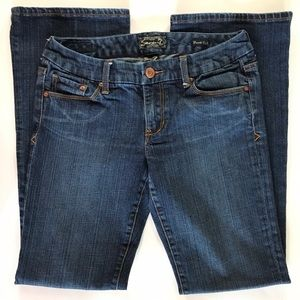 Seven7 31 x 32.5 Boot Cut Embroidered Pockets EUC